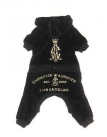 Hondenpakje Zwart LA - Small - Ruglengte 22-25 cm - In Voorraad