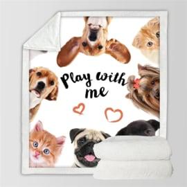 Hondendeken Play with Me - AANBIEDING T/M 27 NOV 2020 - GRATIS VERZENDING