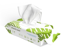 EARTH RATED DOG WIPES GEURLOOS COMPOSTEERBAAR 20,5X20,5 CM 100 ST/ UITVERKOCHT