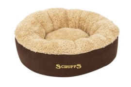 Scruffs Cosy Honden mand Bruin Ø 45 cm.