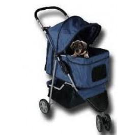 Hondenbuggy Donkerblauw - Gratis Verzending