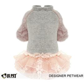 OPVOORRAAD         Hondenjas / jurk Velvet dress  IS PET  L