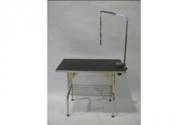 Trimtafel 55x95x78H RVS incluisef trimarm, lus en mandje onder tafel