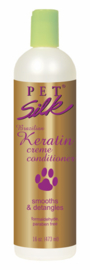 PETSILK BRAZILIAN KERATIN CRÈME CONDITIONER 473 ML