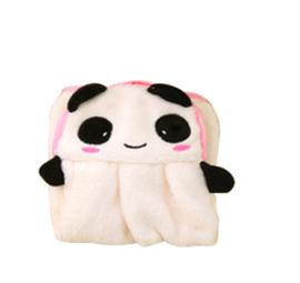 Schattige zachte handdoek Cartoon  Panda 36x28 cm - IN VOORRAAD