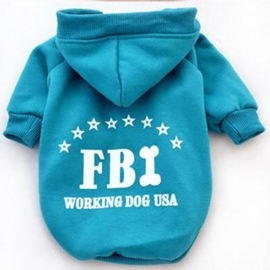 Hondentrui Groen FBI Large