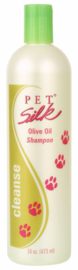 PET SILK OLIVE OIL SHAMPOO 473 ML