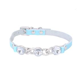 Halsband Rhinestone Blauw