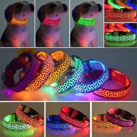 Hondenhalsband Led Leopard