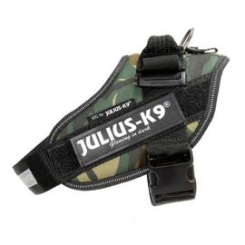 JULIUS-K9 IDC POWERHARNESS  CAMOUFLAGE - BABY 1