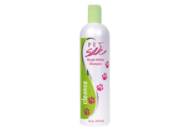 Pet Silk Bright White Shampoo, 473 ml / Voor kleurversteviging