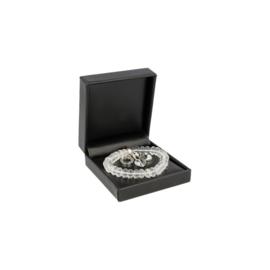 Armband Bergkristal Edelsteen  Ronde Kralen (Ruby Mania) Nugget