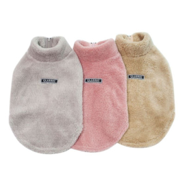 Hondenjas Fleece Beige M