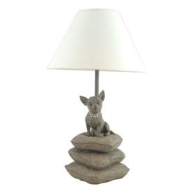 Happy-House Lamp Chihuahua beige 22x22x41 cm