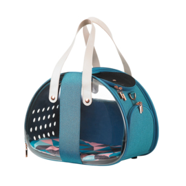 INNOPET  Pet Carrier The Bubble Hotel Semi-transparent -Turquoise - Gratis Verzending