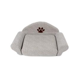 Hondenbed/ mand  grijs