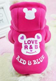 Hondenjasje Roze Smile Katoen L