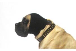 Oorbescherming  Hoodie Zwart SMALL & LARGE