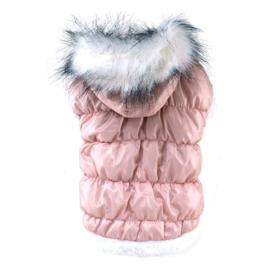 HondenjasLicht Roze  Ziza  - Maat XL  - Ruglengte 35-37 cm - In voorraad