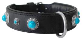 hondenhalsband Doxtasy Antique Turquoise