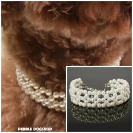 Halsketting Coco voor honden - 20+ 5 cm -  In Voorraad