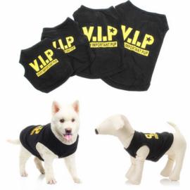 Hondenshirt VIP - Maat XS - Ruglengte 20 cm - In Voorraad