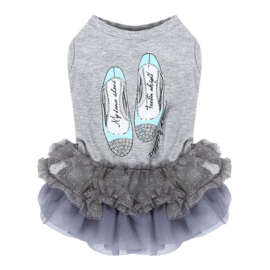Puppy Angel Lovely Princess Dress Grey