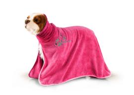Show Tech+ Dry Dude  Hot Pink Badjas