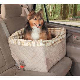 Honden Autozitje On Seat Booster Deluxe -Draag gewicht tot 14 kg -Gratis verzending
