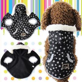Hondenjas Pretty Star - Large - Ruglengte 31 cm - In Voorraad