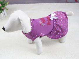 Hondenjurkje paars princess