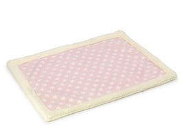 Deken Fleece Ster House of Paws Roze 78X60X1,5