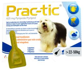 Prac-Tic Teek&Vlo (22-50 kg) 3 pipet- Gratis Verzending