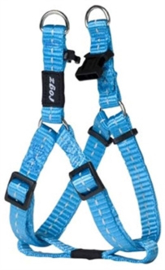 ROGZ FOR DOGS NITELIFE TUIG STEP-IN  TURQUOISE  27-38 CM