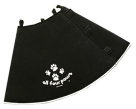 Hondenkap Comfy Cone Black - Gratis Verzending