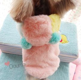 Hondenjas Roze Douma - Maat XS - Ruglengte 20 cm - In Voorraad