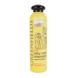 Greenfields Hond Silky Coat Shampoo 250ML - Lange Vacht