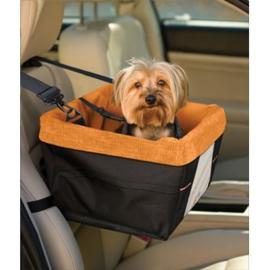 Autostoel voor honden  Kurgo Skybox Booster Seat Black/Orange - Gratis Verzending