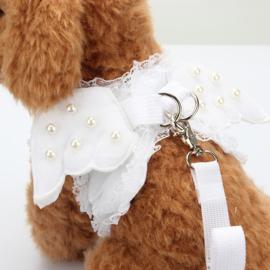 Hondentuig met vleugels en riem - Maat M- Borstomvang 40 cm - In Voorraad