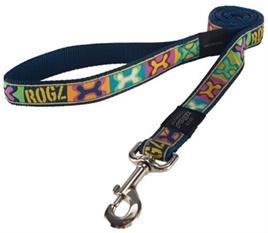 ROGZ FOR DOGS JELLYBEAN LIJN POP ART NAVY 11 MMX1,6 MTR