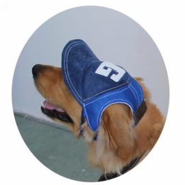 Honden Baseball Pet Blauw - Small, medium en Large