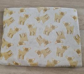 Hondenkussen Wellness Fleece Creme 70x55 cm - IN VOORRAAD