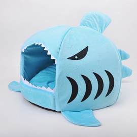 Hondenmand Blauw Haai