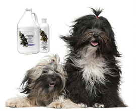 All Systems Crisp Coat shampoo - Ruwharige rassen- Terriers, keeshonden enz.