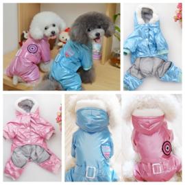 Hondenpak Astro Blauw L