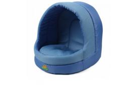 Hondenhuisje  Slaapmand Blauw 35x39x38cm
