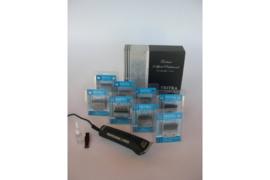 Hondentondeuse TRITRA 2 SPEED + SET L Tondeuse + scheerkoppen set -Gratis Verzending