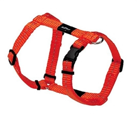ROGZ FOR DOGS NITELIFE TUIG ORANJE STEP-IN  27-38 CM