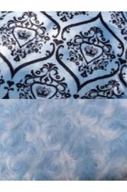 Bessie & Barnie Cuddle Pod Cuddle Pod Blue Sky - Versailles Blue