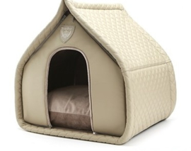 Puppy Angel Luxury Quiltted House Beige